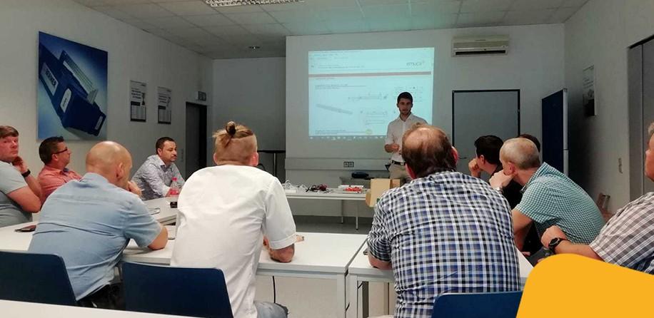 Emuca a organisé une formation avec Berner Austria