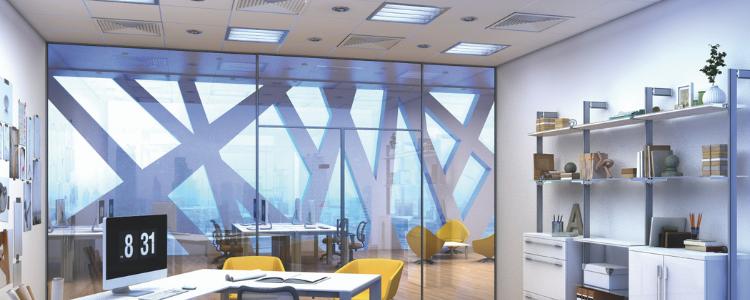 Iluminación en oficinas